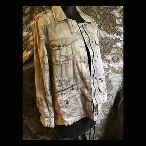 VELVET by Lily Aldridge Camouflage Jacket sz M
